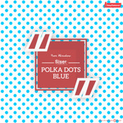 Siser EasyPatterns - Polka Dot Blue & White