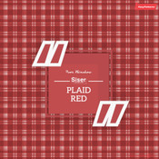 Siser EasyPatterns - Plaid Red