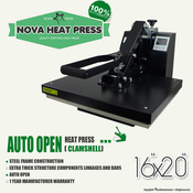 "NOVA 16""x20"" Auto Open Heat Press"