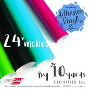 "ORACAL 631 Removable, Matte Finish, Crafting Adhesive Vinyl -  24"" x 10 Yards"