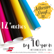 "ORACAL 651 Gloss, Crafting Adhesive Vinyl -  12"" x 10 Yards"