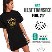 "NRD HTV FOIL - 20"" x 9"" Sheet"