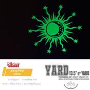 """Siser EasyPSV - Permanent GLOW Adhesive Vinyl - 13.5"""" wide BY YARD"""