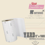 "Siser EasyPSV - Application Tape - 12"" wide BY YARD"