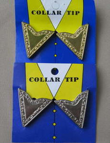 Collar points, edge design
