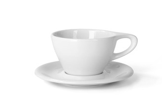Lino Latte Small 8 oz Cup & Saucer