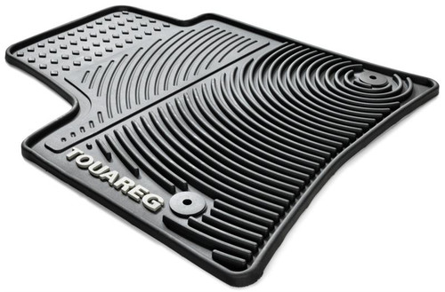Vw Touareg Rubber Floor Mats Vw Accessories Shop