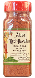 `Alaea Red Hawaiian Sea Salt (Fine) 4.58 oz. Plastic Shaker