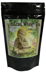 Hibiscus White Tea .95 oz. Resealable Stand Up Pouch