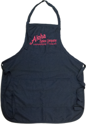 Black Aloha Spice Company Apron