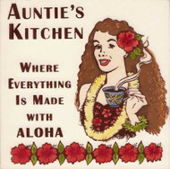 "Auntie's Kitchen 6"" Tile"