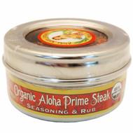 Aloha Prime Steak Rub & Seasoning 3.6 oz. Stainless Steel Tin