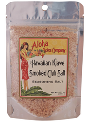 Hawaiian Kiawe Smoked Chili Salt 2.11 oz. Stand Up Pouch