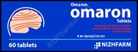 OMARON®, (aka Fezam, Piratsezin, Combo: Piracetam+Cinnarizine) 60pills/pack, 425mg/pill