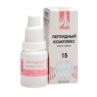 PEPTIDE COMPLEX 15 for kidneys and gall blader, 10ml