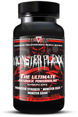 Monster Plexx® Energy + Fat Burner + Libido (Quintuple ProHormone & Anabolic Blend), 60caps/pack, 250mg/cap