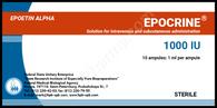 EPOCRIN® (aka Epoetin Alpha, Epogen, Eprex, Procrit), 1000-10000IU/ampul, 10ampuls/pack