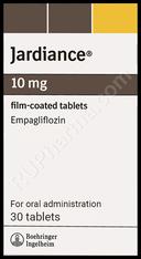 JARDIANCE® (aka Empagliflozin, Ofev) , 30tab/pack, 10-25mg/tab