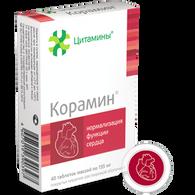 KORAMIN®, (Heart bioregulator) 40pills/pack, 155mg/pill