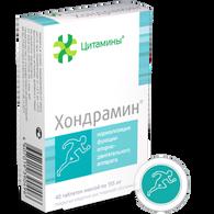 HONDRAMIN®, (Cartilage tissue bioregulator) 40pills/pack, 155mg/pill