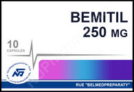 BEMITIL® (aka Metaprot, Bemaktor), 250mg/tab, 10 tab/pack