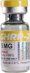 GHRP-2 (aka Growth Hormone Releasing Peptide-2 and Somatotropin), 5mg/flacon