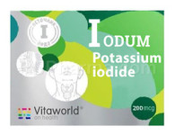 POTASSIUM IODINE (Everyday Use, Low Maintenance Dose), 0.2mg/tab, 100tab/pack