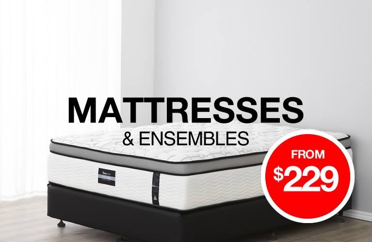 Shop Mattresses & Ensembles