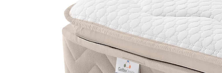 Photo of a pillowtop mattress