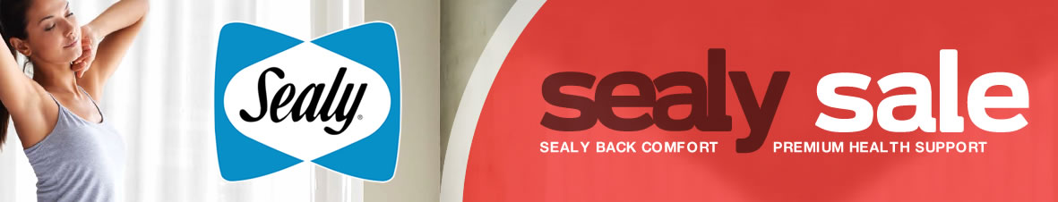 Sealy Sale Back Comfort Premium health Support