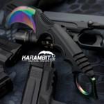 Case Hardened Honshu Karambit w/Shoulder Harness (UC3113)