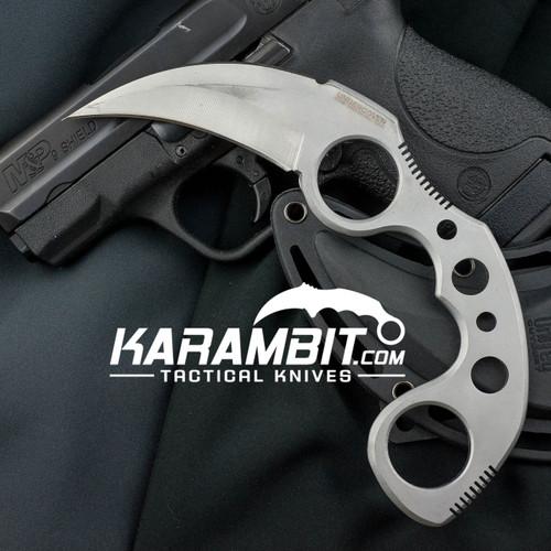 Silver Undercover Karambit w/Sheath