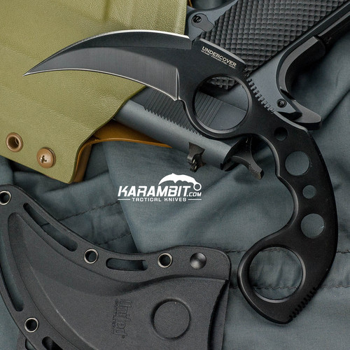 Black Undercover Karambit w/Sheath