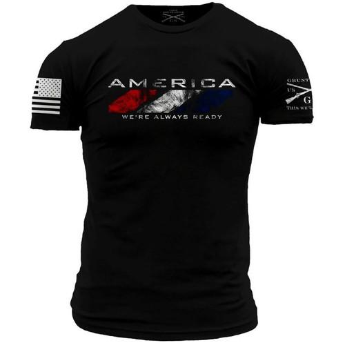 America: We're Always Ready (WAR) T-shirt