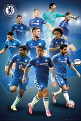 CHELSEA PLAYERS Official Soccer Player Poster 2015/16-#286