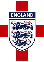ENGLAND CREST Official Soccer  Poster-#008