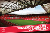 MANCHESTER UNITED THEATRE OF DREAMS Official  Poster-#425
