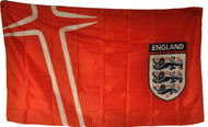 ENGLAND CREST Style Licensed Flag 5' x 3'