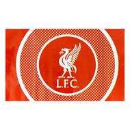 LIVERPOOL FC BULLSEYE Style Licensed Flag 5' x 3'