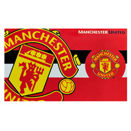 MANCHESTER UNITED FC HORIZON Style Licensed Flag 5' x 3'