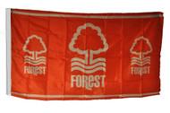 NOTTINGHAM FOREST FC  Style Licensed Flag 5' x 3'