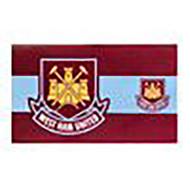 WEST HAM FC STRIPE Style Licensed Flag 5' x 3'