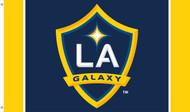 LA GALAXY Premium Fan Flag  5' x 3'