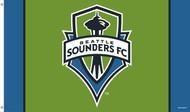 SEATTLE SOUNDERS Premium Fan Flag  5' x 3'