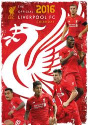 LIVERPOOL FC Official Team Calendar 2016