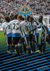 NEWCASTLE  FC Official Team Calendar 2016