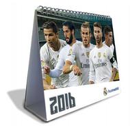 REAL MADRID FC Official Desk Calendar 2016