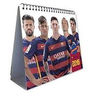 BARCELONA  FC Official Desk Calendar 2016