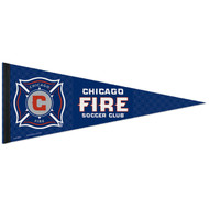"""CHICAGO FIRE FC Premium Style Fan Pennant 12""""x 30"""""""
