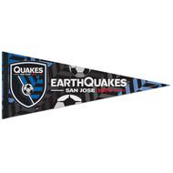 "SAN JOSE EARTHQUAKES 1974 FC Premium Style Fan Pennant 12""x 30"""